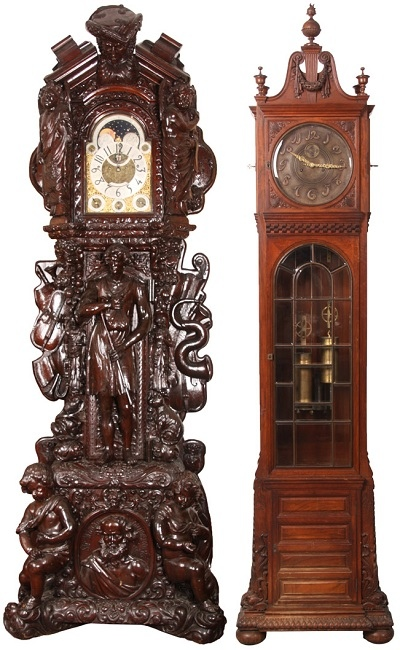 239a28c5 Напольные часы из дерева. Напольные часы. Каминные антикварные часы