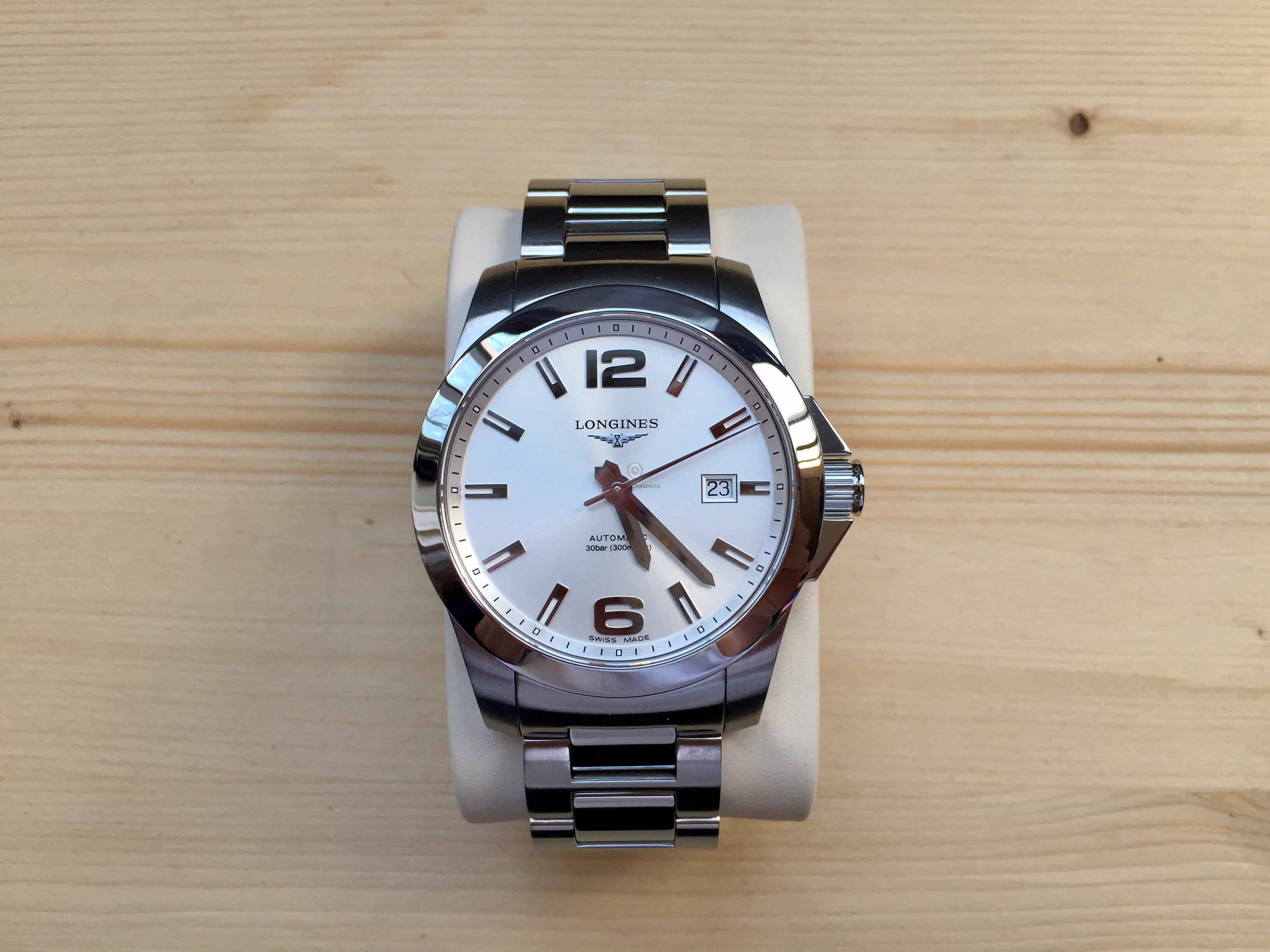 Купить наручные часы Longines Conquest в Часовой ломбард