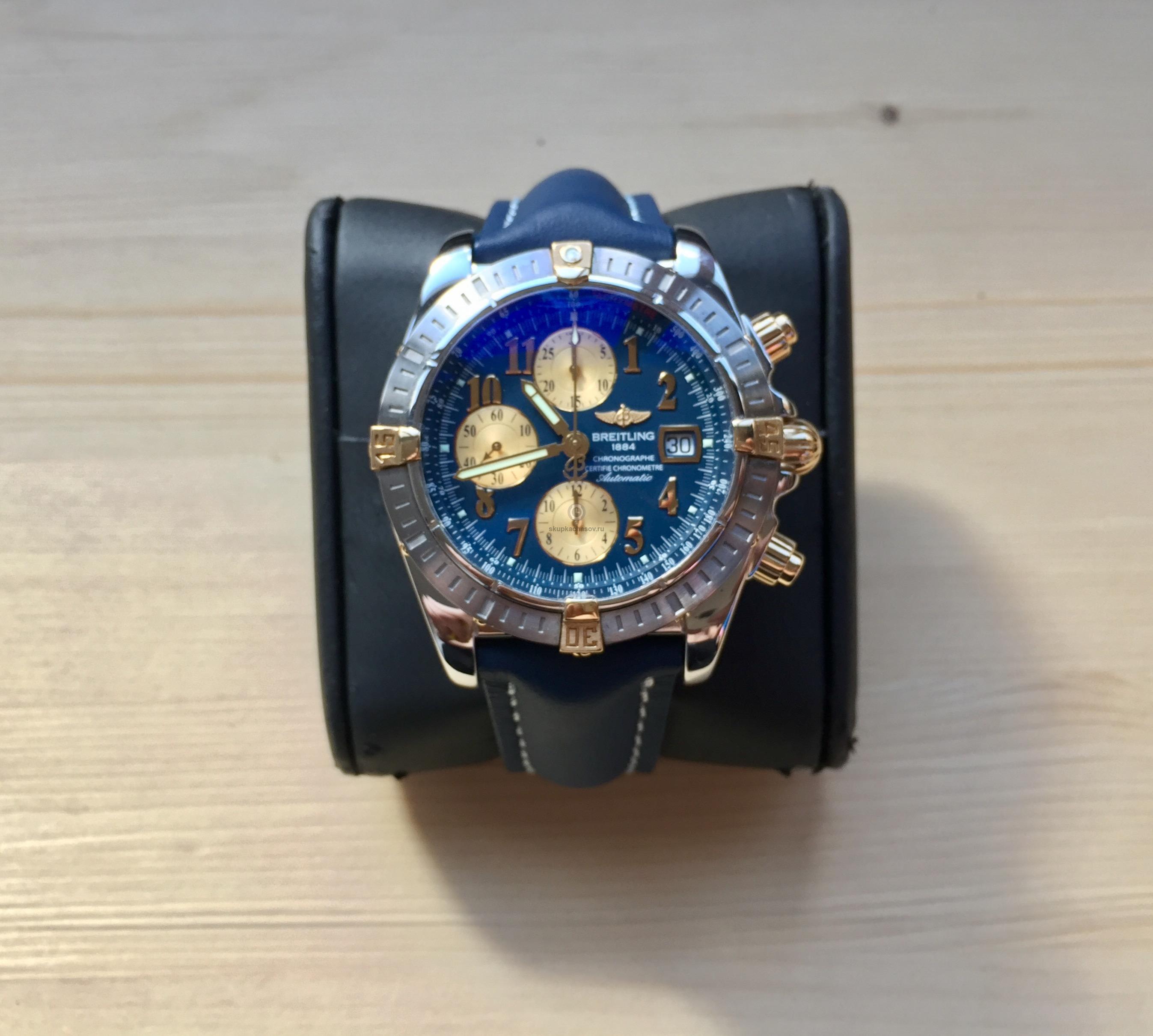 Купить наручные часы Breitling Chronomat Evolution в Часовой ломбард ... 2774c9dca14