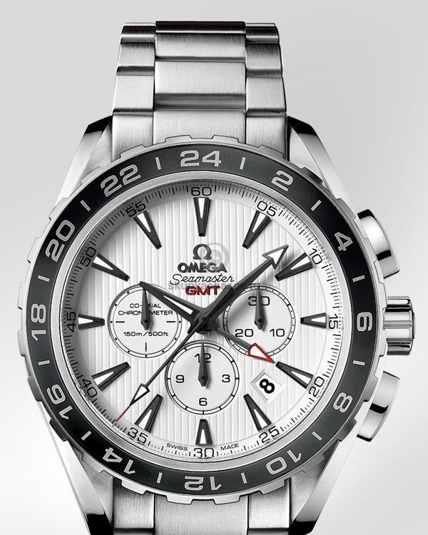 Купить наручные часы Omega Seamaster Aqua Terra Chronograph GMT в ... 1c1b4daa54c