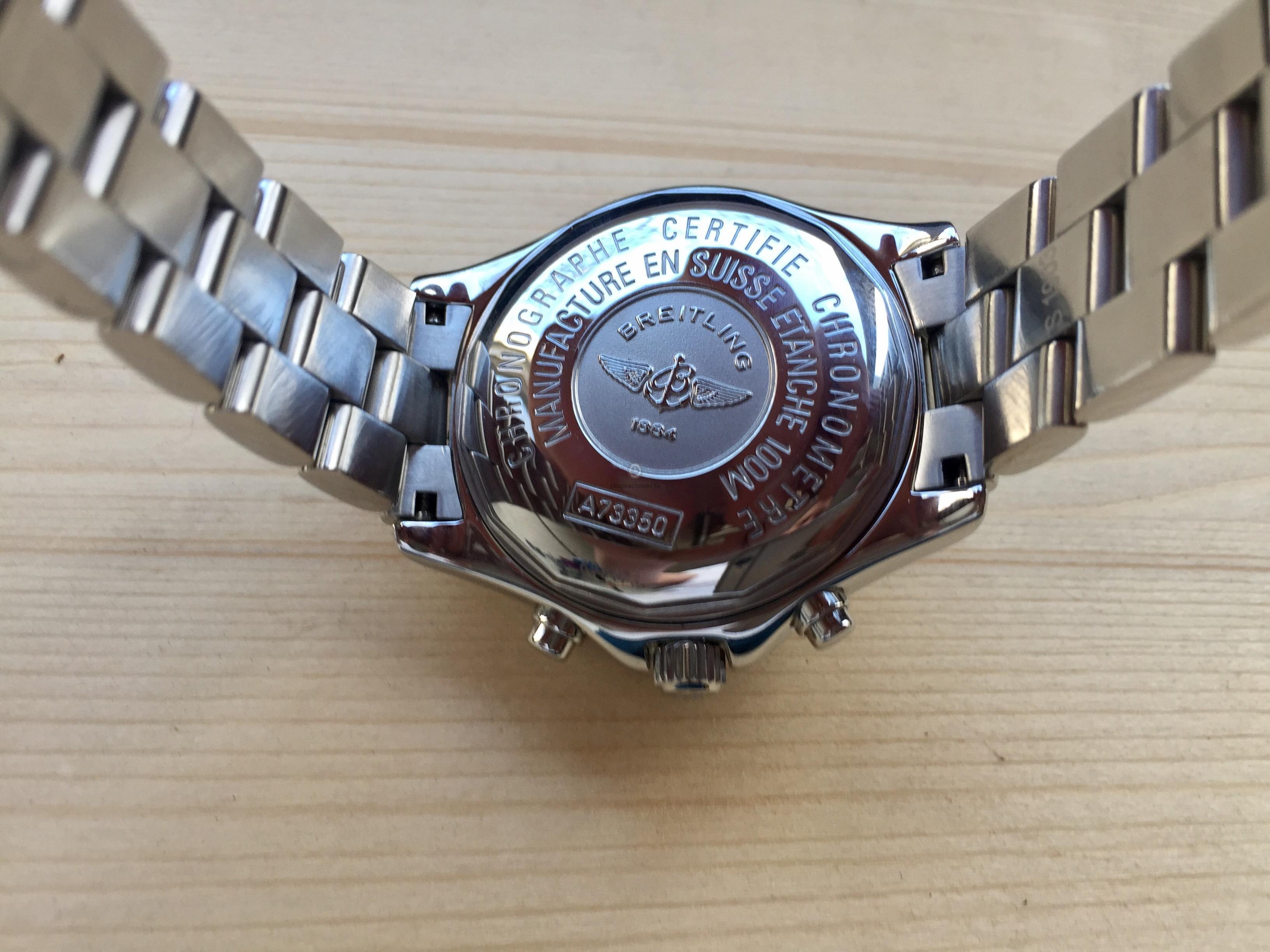 Наручные часы Breitling Colt Chronograph Quartz 38mm Colt Chronograph c398e3c6782