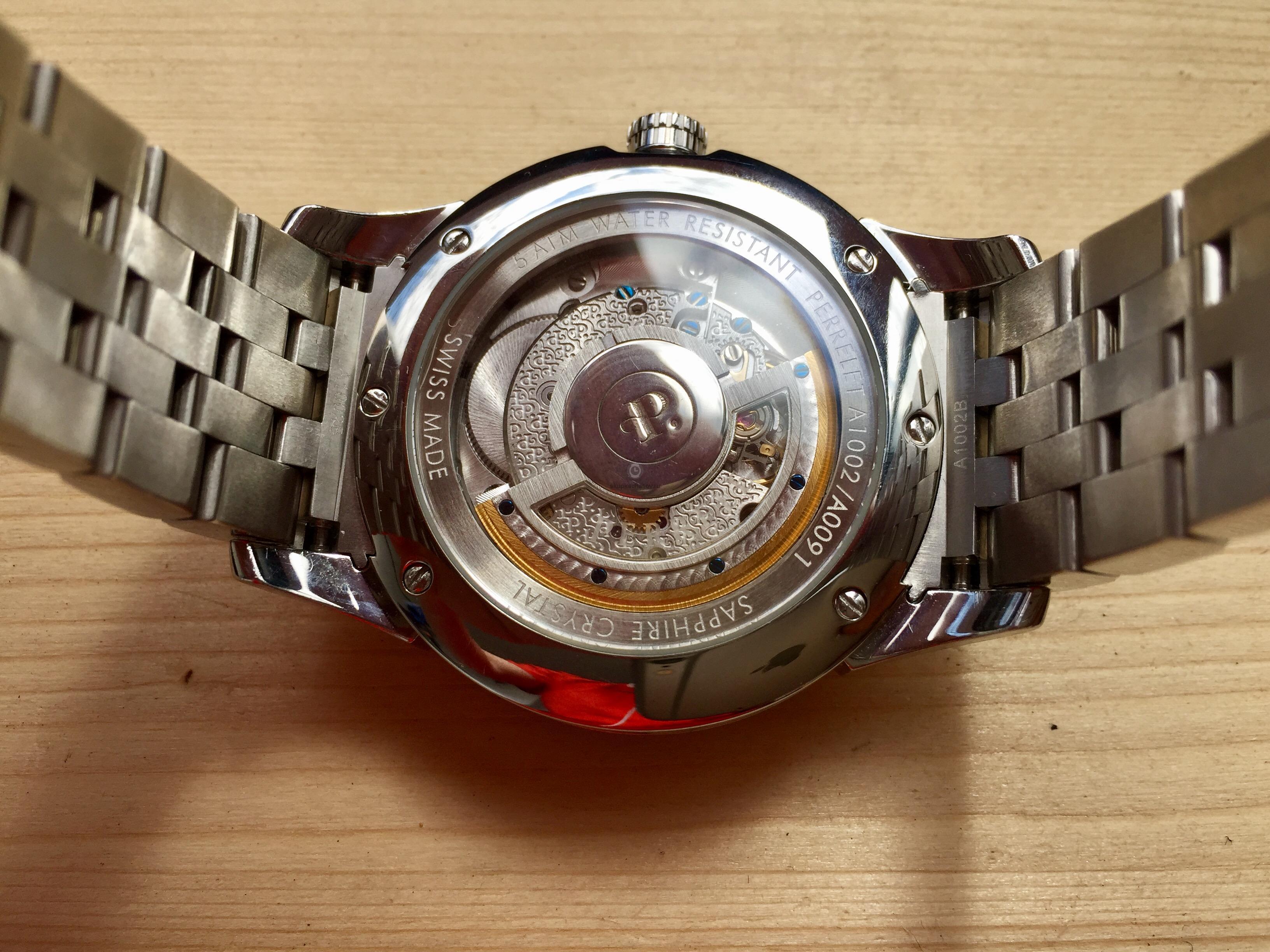 Купить наручные часы Perrelet Big Date в Часовой ломбард