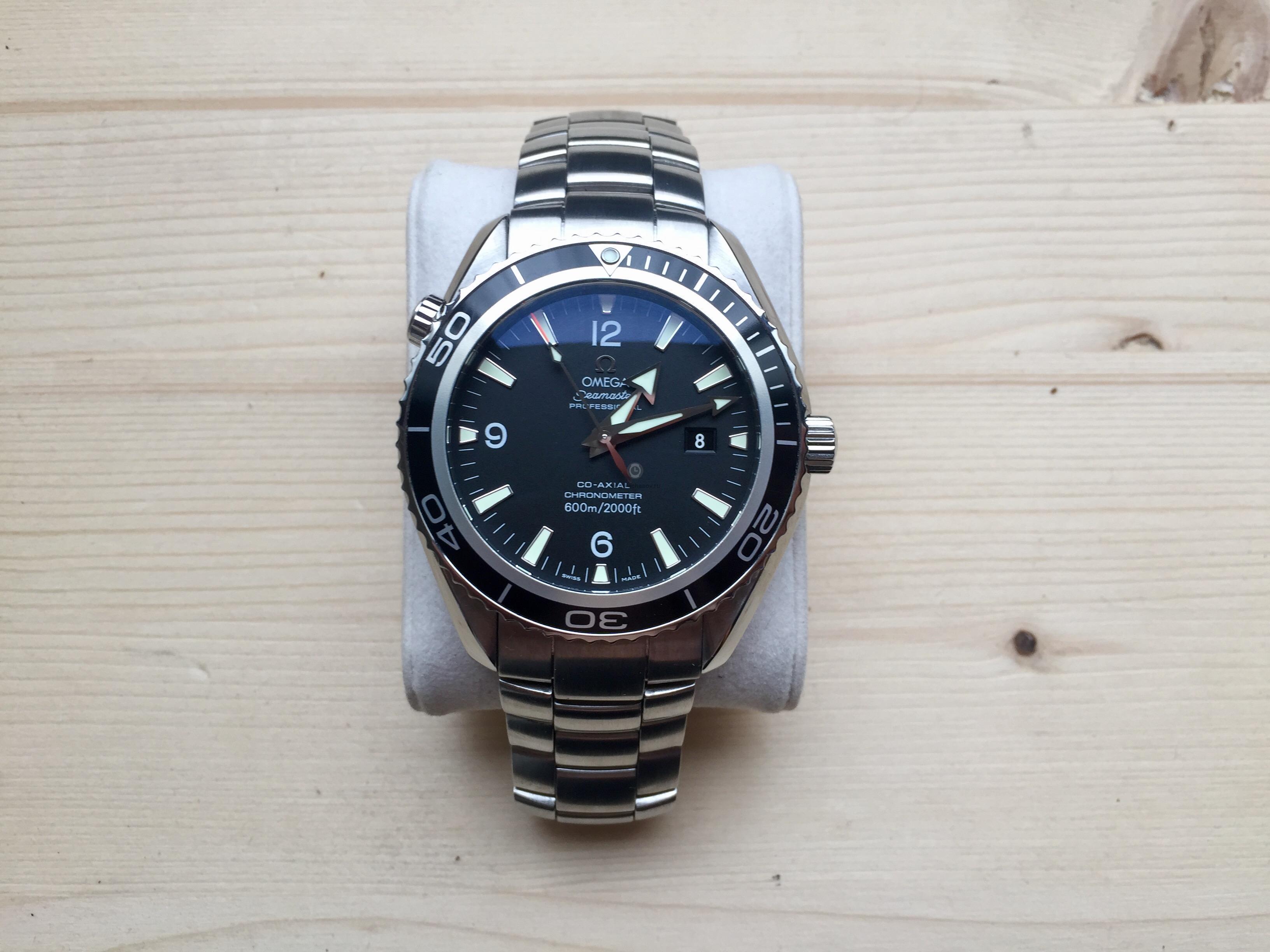 Купить наручные часы Omega Seamaster Planet Ocean Big Size в Часовой ... e29b8c5ef1e
