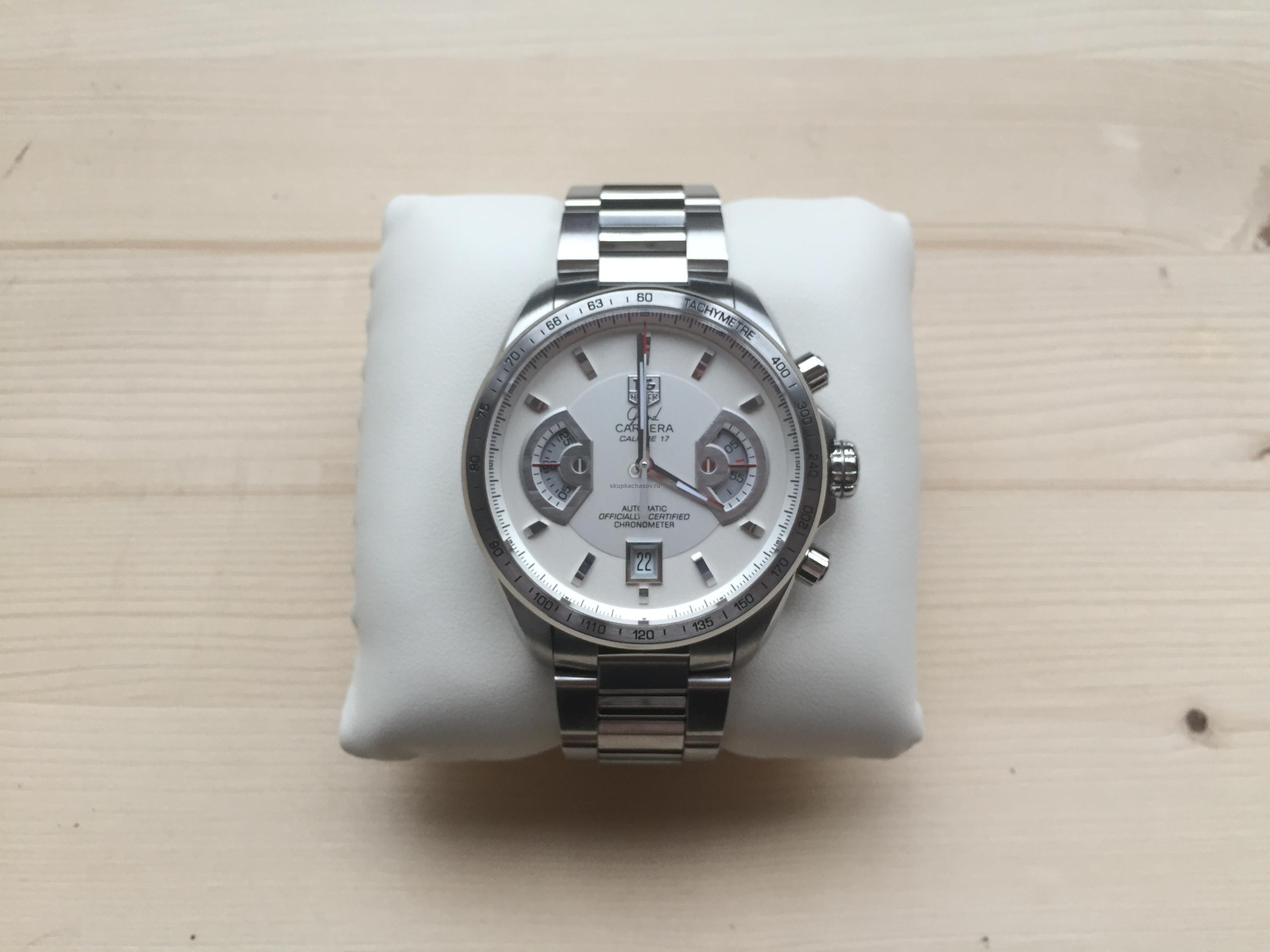 Купить наручные часы Tag Heuer Grand Carrera в Часовой ломбард