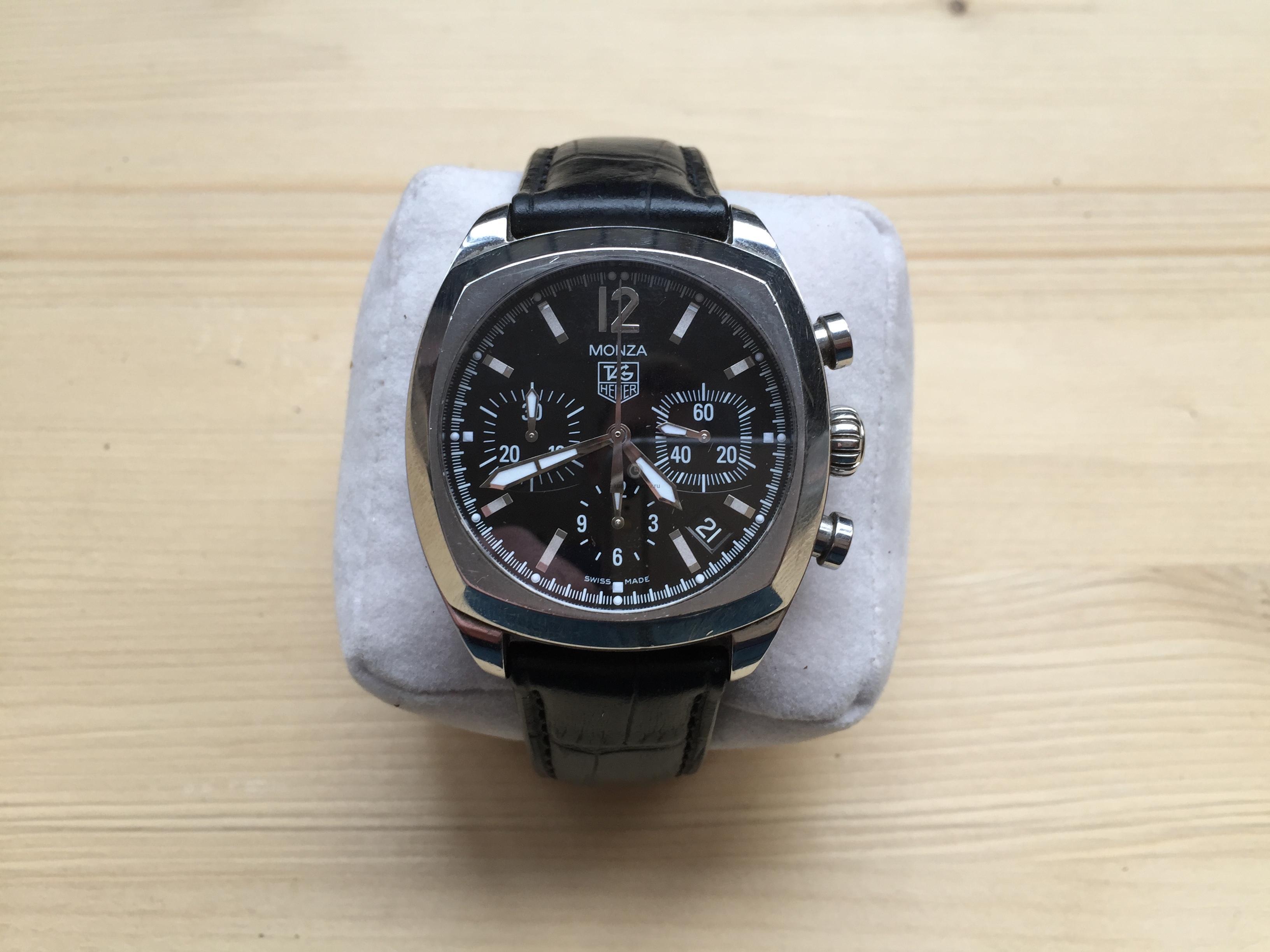 Купить наручные часы Tag Heuer Monza в Часовой ломбард