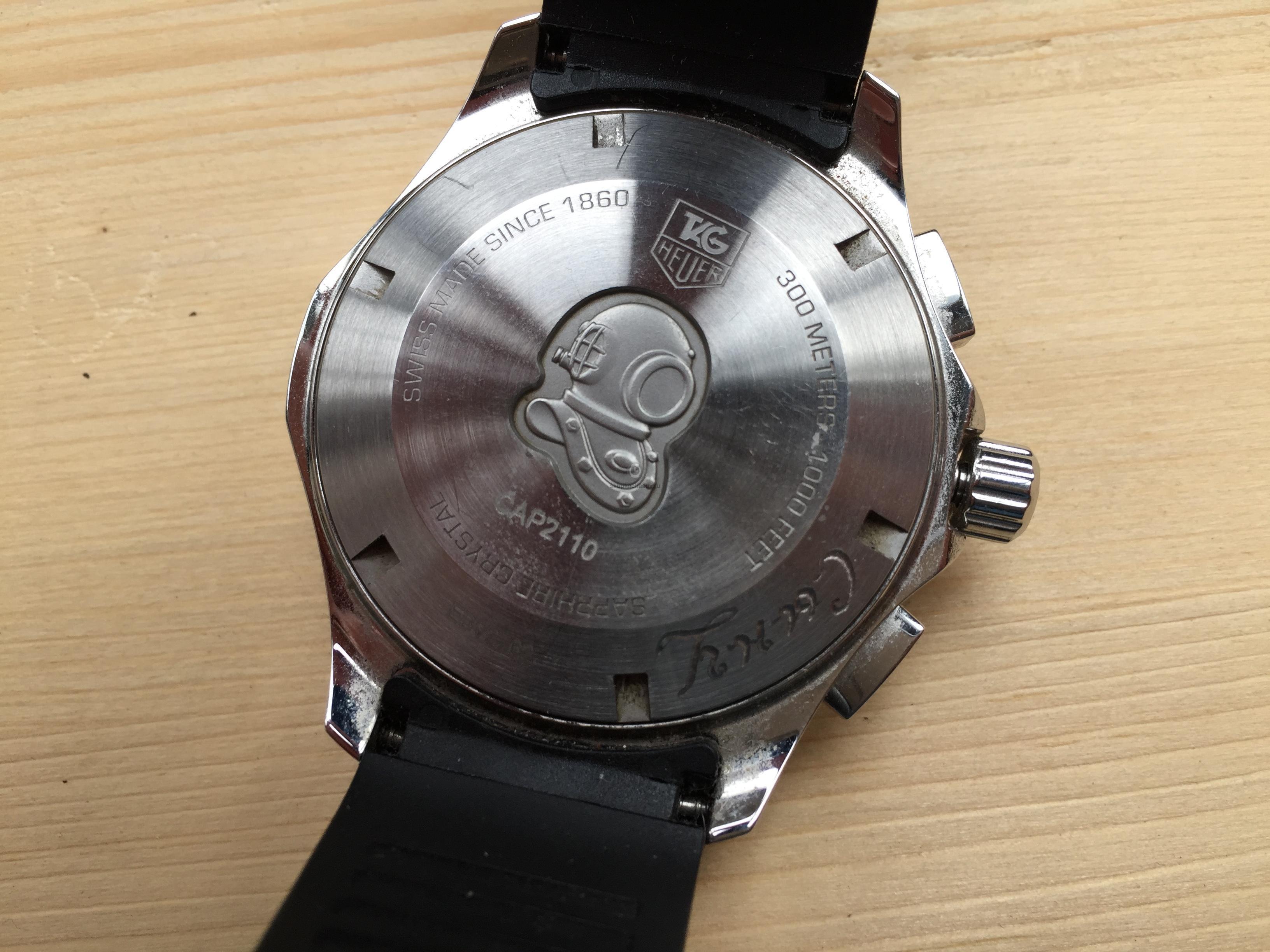Купить наручные часы Tag Heuer Aquaracer в Часовой ломбард
